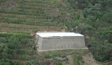 خزان حصاد مياه في منطقة طنب الجعفريه ريمه