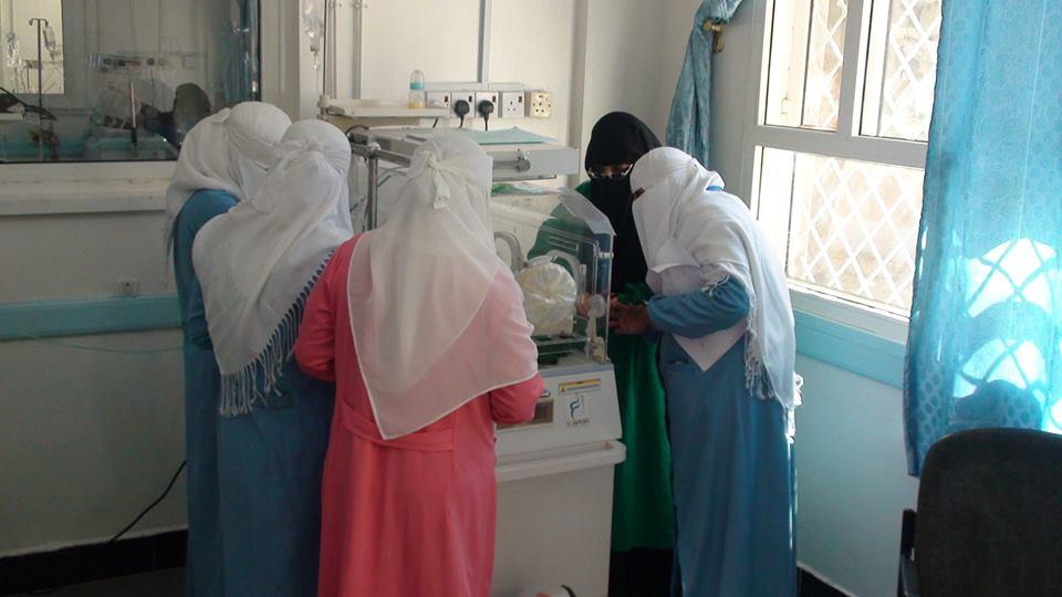تخرج أول دفعة ممرضات رعاية الأطفال الخدج والعناية المركَّزة