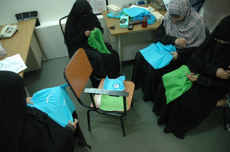 مركز مرنع طلحة لتسويق منتجات الجمعيات الحرفية اليمنية