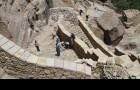 صور متنوعة لبوابة حصن ثلاء المكتشفة التابعة لمشروعة حماية وترميم طريق حصن ثلاء - ثلاء عمران (3)