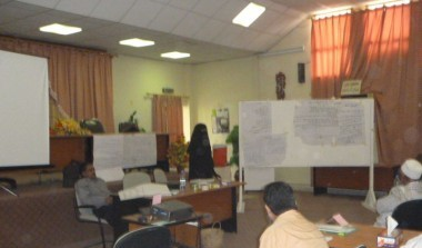 Training on agriculture for Heads of Committees of Almadharebah- Lahej