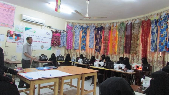 248 rural female trainees participating in vocational training