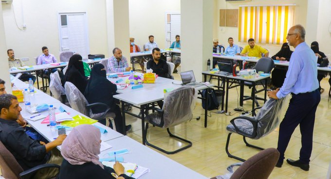 Aden branch opens a series of training on HSE
