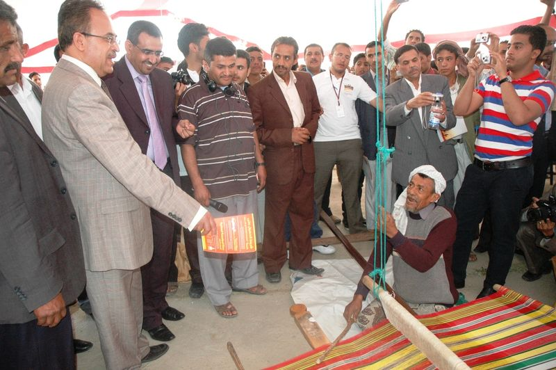 Small and Micro-Enterprise Week launched in Al-Sabeen Park, Sana'a