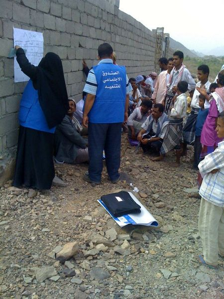 Self-help Voluntary development going on in Sami'e, Taiz